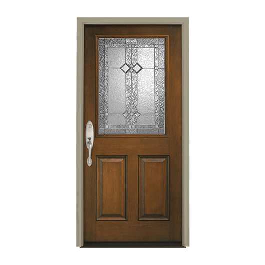 Architect Series 1/2 Light Entry Door with Glass